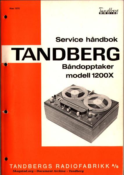 Skogstad org - Document Archive - Tandberg